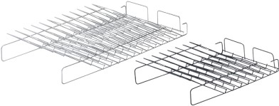 AFLEGVAKKEN SCHUIN HETTICH CE staal/KU*8vaks*=2HE*ST2000
