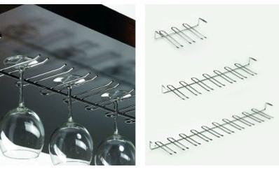 GLASHOUDER ONDERBOUW HETTICH CE verchroomd*B814xD172xH55mm