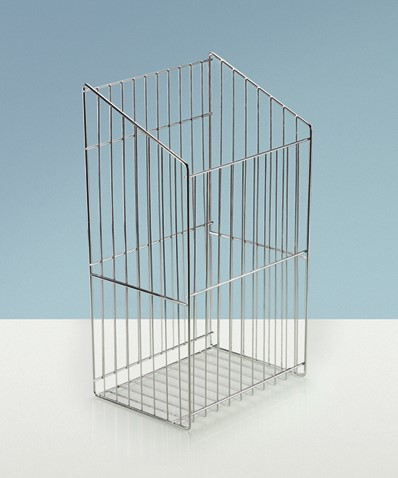WASMAND ZONDER GREEP HETTICH CE staal*draadmodel*328x350x540