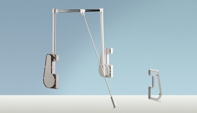 KLEDINGLIFT DUO HETTICH CE staal*750-1150mm*max.15kg
