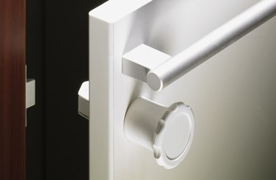 AANSLAGPLAAT SafeFix HETTICH CE compleet m/slot*zonder knop