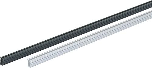 LOOPPROFIL SLIDELINE HETTICH CE aluminium donker geeloxeerd*