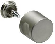 MEUBELKNOP EXQUISIT HETTICH CE nikkel*..-..mm*zonder cilinder