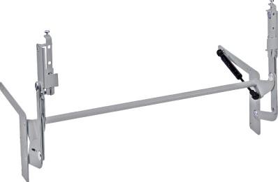 HOOGLIFTBESLAG 1V HETTICH CE staal wit gecoat*max.3,5kg