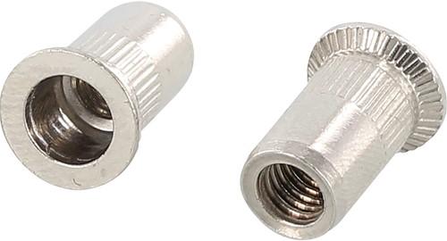 BLINDKLINKMOER GETAND MEFF CE klembereik 1,5-4,0mm*boren ø 7mm
