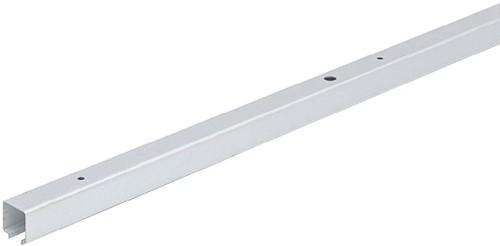 LOOPPROFIEL WINGLINE HETTICH CE aluminium zilver geeloxeerd*