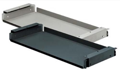 TOETSENBORDPLATEAU HETTICH CE uittrekbaar*staal*max.555mm