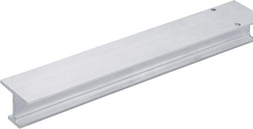 LOOPPROFIEL TOPLINE HETTICH CE aluminium zilver geeloxeerd