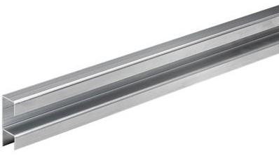 GELEIDINGSPROFIEL HETTICH CE aluminium zilver geeloxeerd