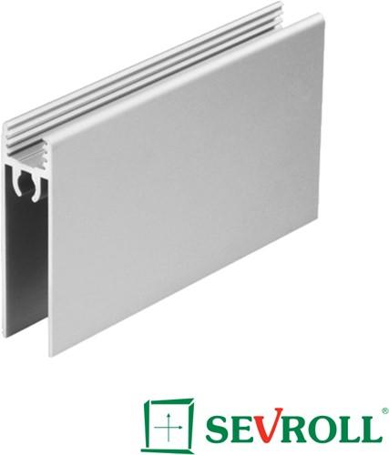 ONDERPROFIEL HORI SEVROLL CE aluminium*L=3000mm