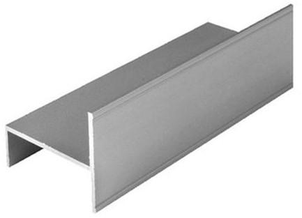 GELEIDERAIL HORIZON SEVROLL CE aluminium*schuin dak*L=3000mm