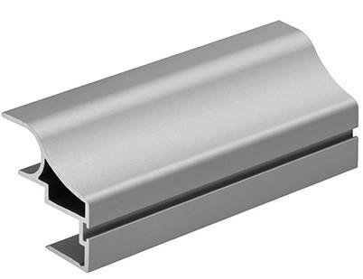 GREEPPROFIEL C16-II SEVROLL CE aluminium blank*vertikaal