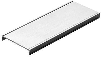 DEKSEL ONDERDORPEL SEVROLL CE aluminium*doubler 2*71,4x7,8mm