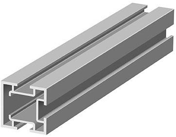 OPBOUWPROFIEL LINEA SEVROLL CE aluminium*interior*L=3000mm