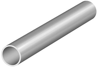 BUISPROFIEL LINEA SEVROLL CE aluminium*rond *L=3000mm