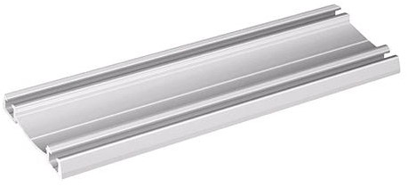 ONDERPROFIEL ELEGANT 2 SEVROLL zilver geanodiseerd*L=6000mm