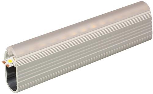 GARDEROBERAIL LINEA SEVROLL CE aluminium*z/kap*L=3000mm
