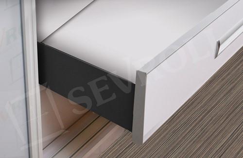 LADESET SEVROLLBOX (D) SEVROLL CE softclose*silent*16mm*insert*max.40kg