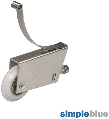 LOOPWIELSET ONDER V SEVROLL CE voor aluminium frame*inschroef
