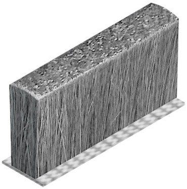 STOFAFDICHTING SEVROLL CE voor square greepprofiel*200m
