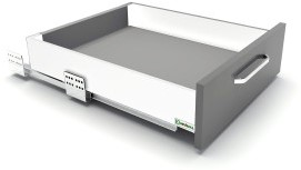LADESET SEVROLLBOX (S) V6 SEVROLL CE softclose*silent*16mm*schroef*max.40kg