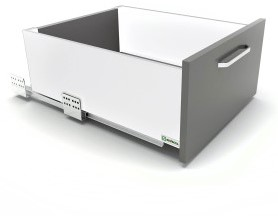 LADESET SEVROLLBOX (S) SEVROLL CE softclose*silent*16mm*schroef*max.40kg