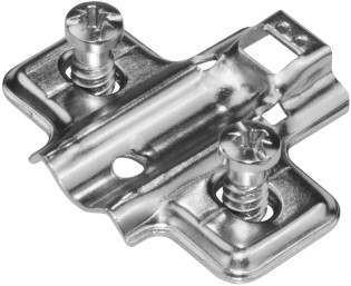 MONTAGEPLAATJE LOS 2G SEVROLL CE opschroef*euroschroef M6,3x13*sys32mm
